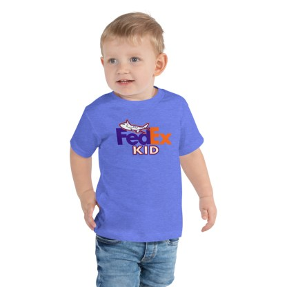 airplaneTees FedEx Kid Toddler Tee... Short Sleeve 2