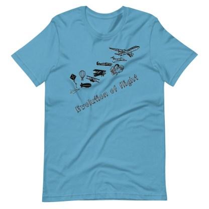 airplaneTees Evolution of Flight... Short-Sleeve Unisex T-Shirt 15