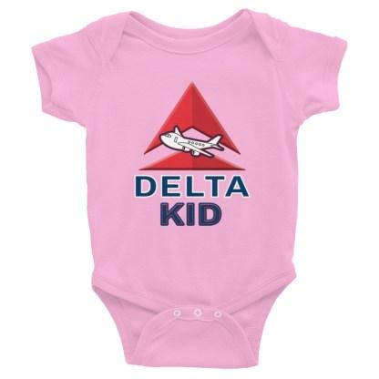 airplaneTees Delta Kid Onesie... Rabbit Skins... Infant Bodysuit 5