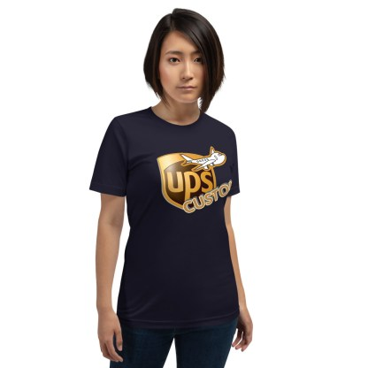 airplaneTees CUSTOM UPS Guy/Gal/Dad/Mom Tee Short-Sleeve Unisex 3