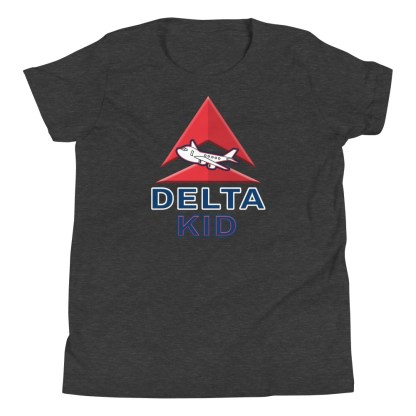 airplaneTees Delta Kid Youth Tee... Short Sleeve 5