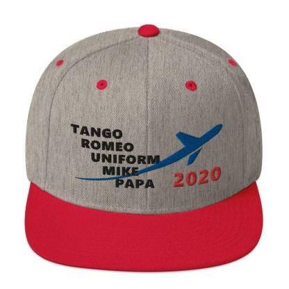 airplaneTees TRUMP 2020 Hat- Black... Snapback Hat 1