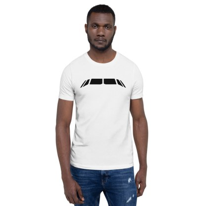 airplaneTees Airbus Flightdeck Windows Tee... Short-Sleeve Unisex 2
