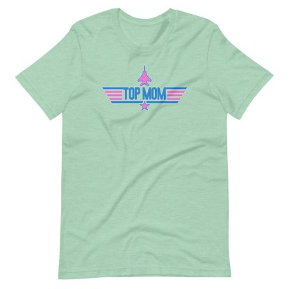 airplaneTees Top Mom tee in Pink... Short-Sleeve Unisex 9