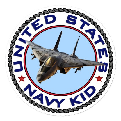 airplaneTees US Navy Kid Stickers... Bubble-free 1