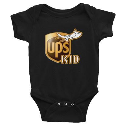 airplaneTees UPS Kid Onesie... Rabbit Skins... Infant Bodysuit 3