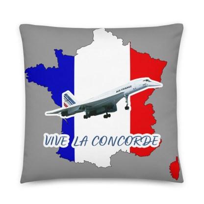 airplaneTees Vive La Concorde Pillow 6