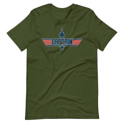 airplaneTees Captain Maverick Style Tee... Short-Sleeve Unisex 8