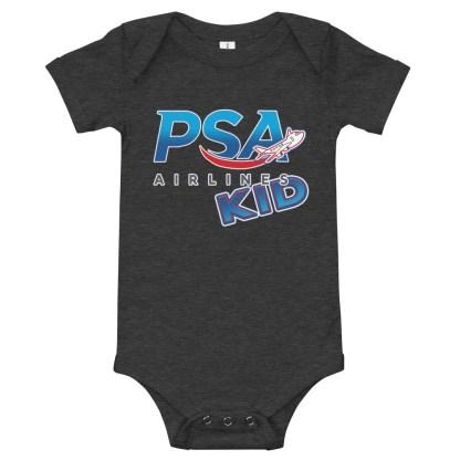 airplaneTees PSA Airlines Kid Onesie 4