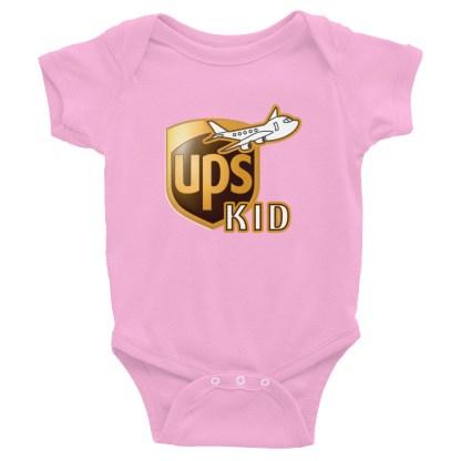 airplaneTees UPS Kid Onesie... Rabbit Skins... Infant Bodysuit 5