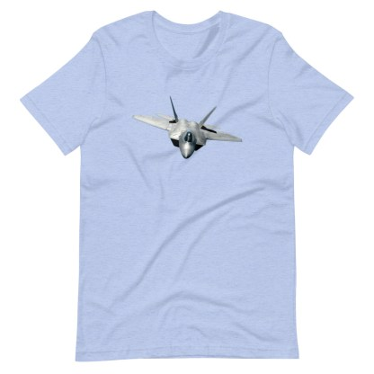 airplaneTees F22 Front View... Short-Sleeve Unisex T-Shirt 1