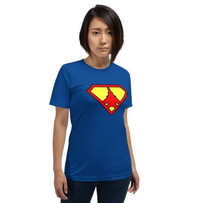 airplaneTees Super Fighter Pilot Tee... Short-Sleeve Unisex 6
