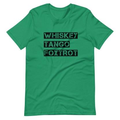 airplaneTees WTF, Whiskey Tango Foxtrot Tee... Short-Sleeve Unisex T-Shirt 1