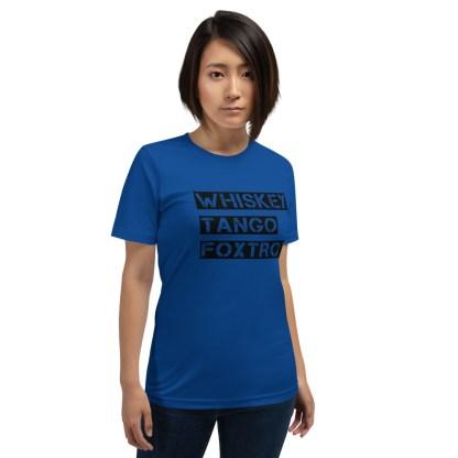 airplaneTees WTF, Whiskey Tango Foxtrot Tee... Short-Sleeve Unisex T-Shirt 3
