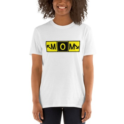 airplaneTees MOM Taxiway Art Tee... Short-Sleeve Unisex T-Shirt 3