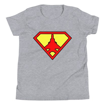airplaneTees Super Fighter Pilot Youth Tee... Short Sleeve 4