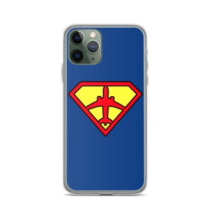 airplaneTees Superpilot iPhone Case 4