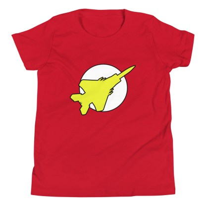 airplaneTees Fighter Flash Youth Tee... Short Sleeve 1