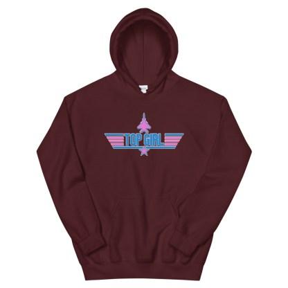 airplaneTees Top Girl Hoodie... Unisex 12