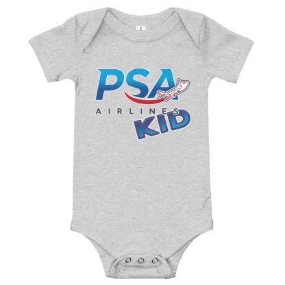 airplaneTees PSA Airlines Kid Onesie 5
