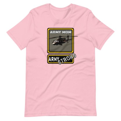 airplaneTees PERSONALIZE IT - Army Strong Tee, Army Mom, Dad, Rank, Class you name it. Short-Sleeve Unisex T-Shirt 15