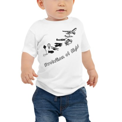 airplaneTees Evolution of Flight infant tee... Jersey Short Sleeve 2