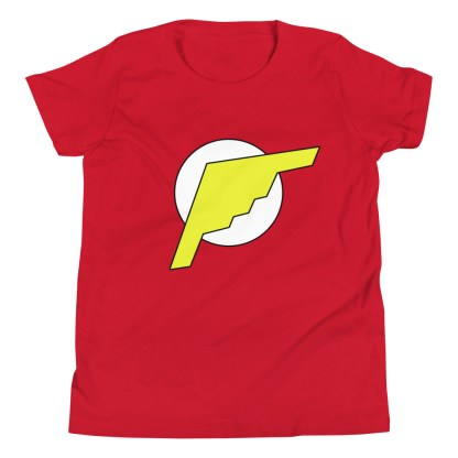 airplaneTees B2 Bomber Flash Youth Tee... Short Sleeve 1