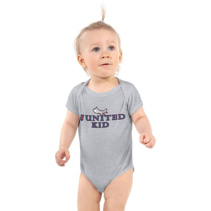 airplaneTees United Kid Onesie... Rabbit Skins... Infant Bodysuit 2