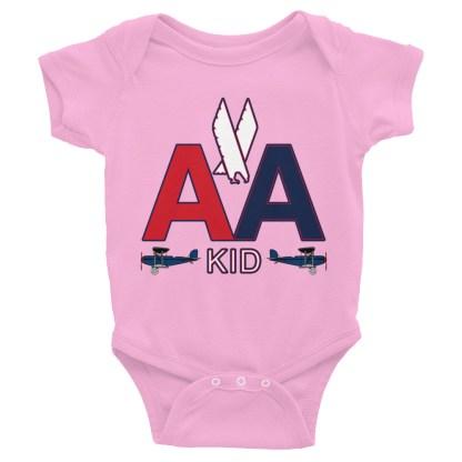 airplaneTees American Kid Onesie Rabbit Skins... Infant Bodysuit 5