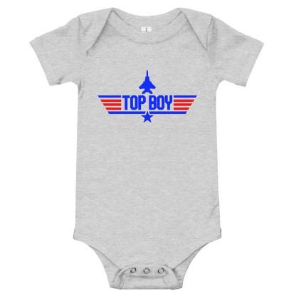 airplaneTees Top Boy Onesie 1