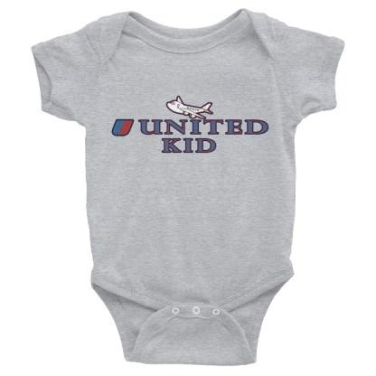 airplaneTees United Kid Onesie... Rabbit Skins... Infant Bodysuit 1