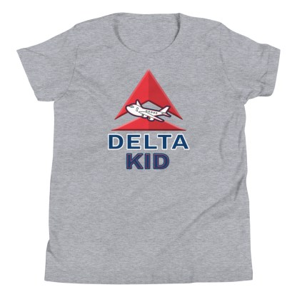 airplaneTees Delta Kid Youth Tee... Short Sleeve 1