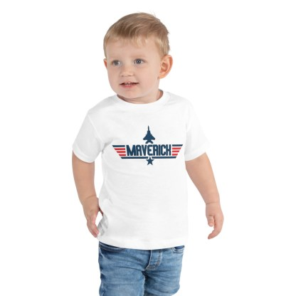 airplaneTees Maverick Toddler Tee Short Sleeve 2