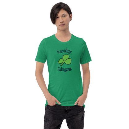 airplaneTees Lucky Lingus Tee Short-Sleeve Unisex 3