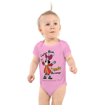airplaneTees Captain Hook Airways Onesie... Infant Bodysuit 2