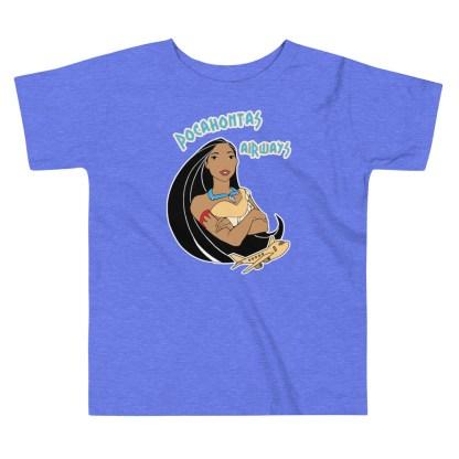 airplaneTees Pocahontas Airways Tee... Toddler Short Sleeve 1