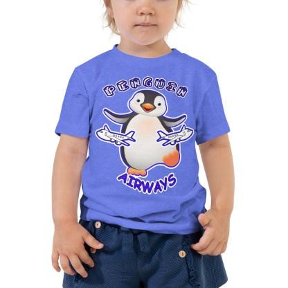 airplaneTees Penguin Airways Tee... Toddler Short Sleeve 3