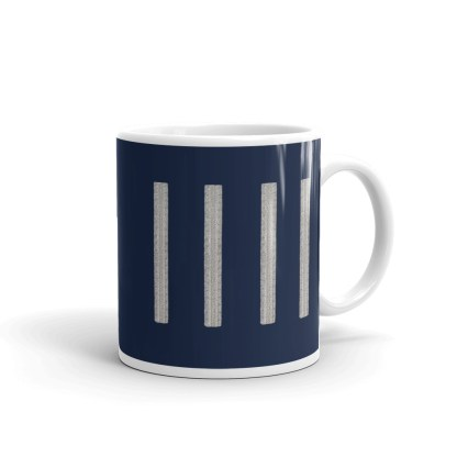 airplaneTees United Airlines Captain Coffee Mug 2