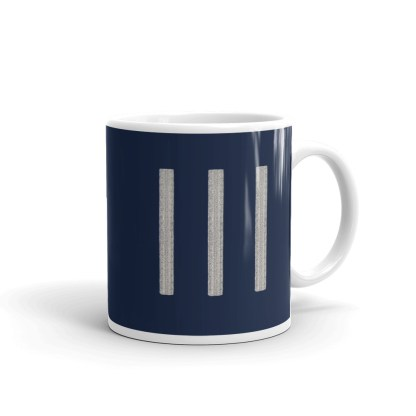 airplaneTees United Airlines First Officer Coffee Mug 2