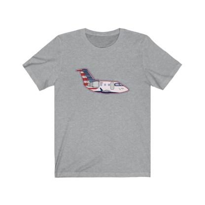 airplaneTees PSA CRJ Tee Unisex Jersey Short Sleeve 1