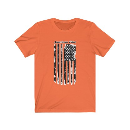 airplaneTees American Pilot Tee - Unisex Jersey Short Sleeve 4