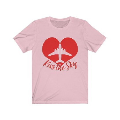 airplaneTees Kiss the Sky - Unisex Jersey Short Sleeve Tee 1
