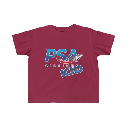 airplaneTees PSA Airlines Kid CRJ Tee... Toddler Kid's Fine Jersey 6