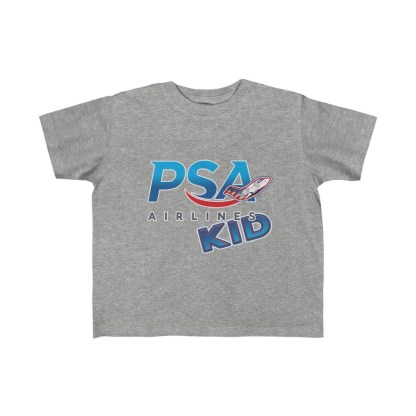 airplaneTees PSA Airlines Kid CRJ Tee... Toddler Kid's Fine Jersey 1