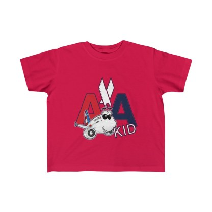 airplaneTees AA Kid Toddler Tee Airbus... Kid's Fine Jersey 5