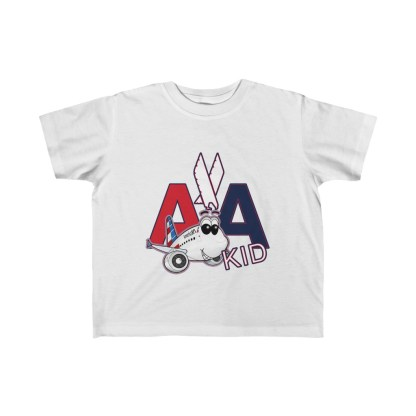 airplaneTees AA Kid Toddler Tee Airbus... Kid's Fine Jersey 2