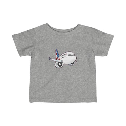 airplaneTees American Airbus Infant Tee... Fine Jersey 3