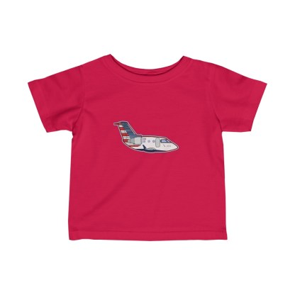 airplaneTees MESA CRJ Infant Tee - Fine Jersey 6