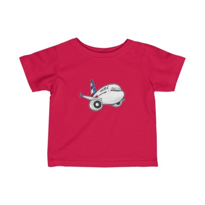 airplaneTees American Airbus Infant Tee... Fine Jersey 6