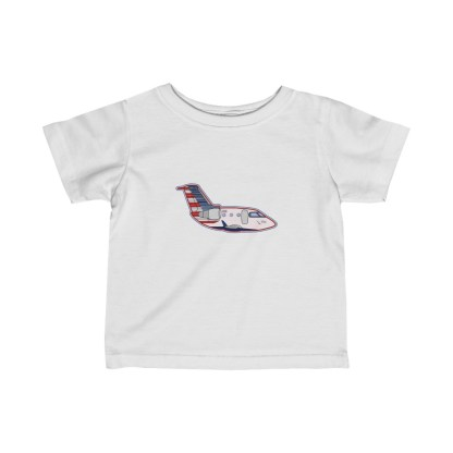 airplaneTees PSA CRJ Infant Tee - Fine Jersey 2